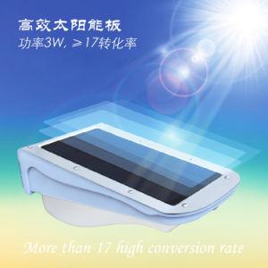 der Sonnenkollektor-3W Solar-LED im Freiengarten-Licht Fabrik-Preis-Bewegungs-der Lampen-
