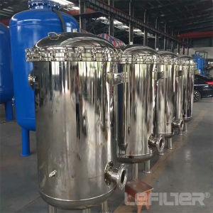 Alojamento do filtro de manga de aço inoxidável para tratamento de água