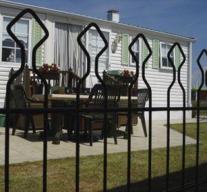装飾的なFence BlackおよびAluminum Fencing Panel