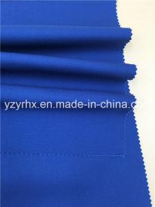 終了するファブリック綿/ポリエステル線維のあや織りの青