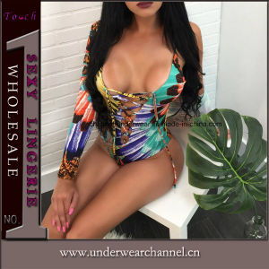 Chiffon de l'été Femmes Boho maillot de bain avec bikini Sun-Proof couvrir jusqu'
