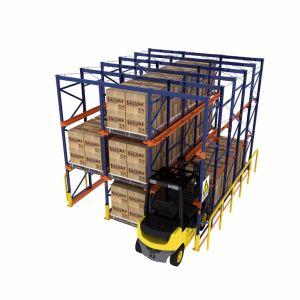 Étagère de rangement métallique parfaite Auto Système de montage en rack de stockage