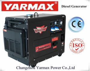 Generatore silenzioso diesel portatile di Yarmax con prezzo del rifornimento dell'OEM del Ce 6kVA 6.5kVA il migliore