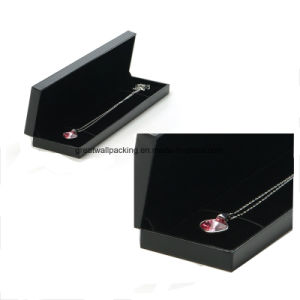 Caja de regalo de lujo personalizado Collar Joyero del embalaje de papel