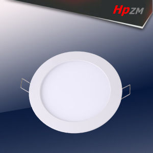 4W 6W 8W Aluminum Round LED Panel Light