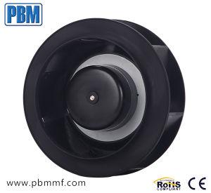 ventilador para trás curvado elevado do centrifugador do Ec da velocidade de 175mm