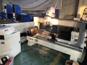 中国の製造のチーナンの印4015 回転式Axis セリウムが付いている木製シリンダーCNCのルーター