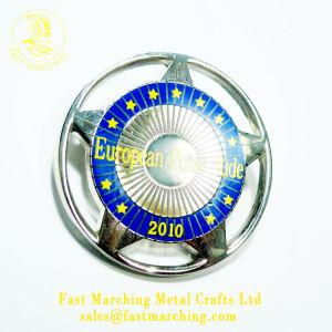 Pinのおもちゃボタンの磁石の金属のロゴのトヨタのカスタム昇進バッジ