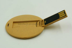De Aandrijving van de Pen van de Stok van het Geheugen van de Flits van de Creditcard USB van de Vezel van het document