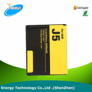 Batería del teléfono móvil de Samsung Galaxy J5 de 2015 a 2600 mAh Eb-Bg1531BBE