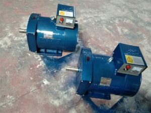 10kw Alternator in drie stadia