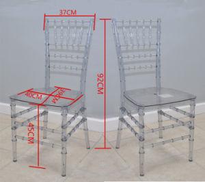 Empilhamento de Casamento Chivari elegante cadeira Tiffany Clara