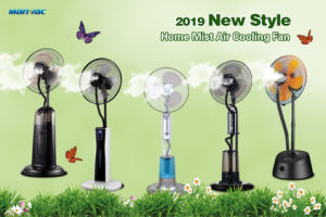 Accueil Indoor Petite télécommande ventilateur de brumisation-eau électrique
