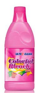 La lejía y desinfectante líquido en el hogar