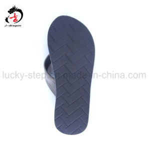 Color azul de la zapata de hombre PU