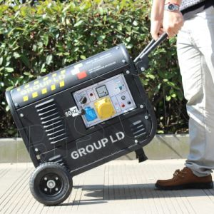 Bisonte (Cina) BS2500c (H) fase portatile del generatore 220V 3 della benzina di piccolo potere domestico del collegare di rame di 2kw 2000W 2kVA
