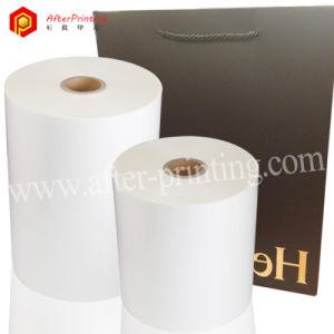 Mate BOPP/térmico transparente de laminación en caliente en envases de plástico Film 17~32micras
