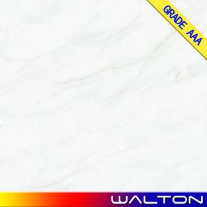Marmeren kijk de Volledige Opgepoetste Verglaasde Tegels 600*600 van de Vloer van het Porselein (gewicht-6605)
