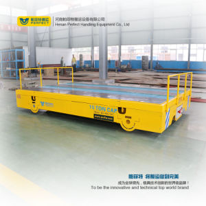 Carrello della guida del veicolo di trasferimento della batteria per l'industria siderurgica