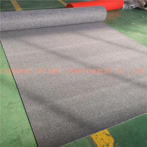 Tapetes baratos agulha não tecido listrado perfurado Tapete Exposições Tapete de eventos