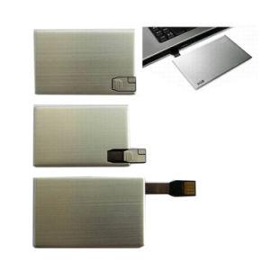 Металл Тонкий диск USB карты Visa на 8 ГБ карту памяти Memory Stick