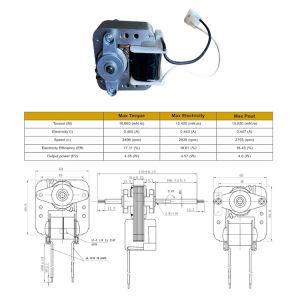 Polo sombreado Motor del ventilador para el cuarto de baño Ventiladores