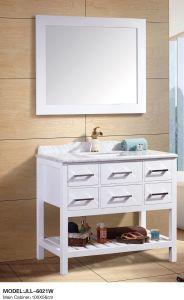 Cuarto de baño de madera Armario con llave