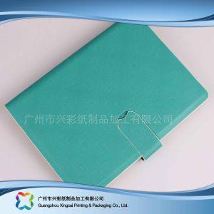Kundenspezifischer Firmenzeichen A5 PU-Deckel-Tagebuch-Notizbuch-Planer (xc-stn-023)