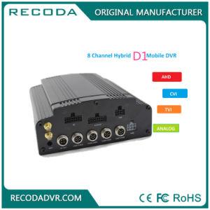 Mischling 8CH 1080P HDD mobiles DVR Fahrzeug-Videogerät 3G GPS WiFi der Ableiter-Karten-HD