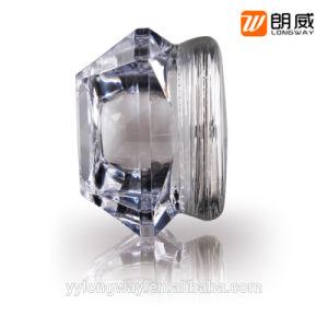 15gプラスチッククリーム色の容器およびダイヤモンドの形の化粧品の瓶