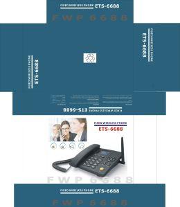 OEM keurt Landline van de Telefoon 3G/2g van de Desktop WCDMA 3G Vaste Draadloze Telefoon goed