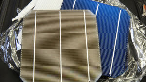 Silikon-Solarzelle