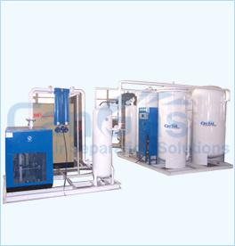 Los generadores de nitrógeno de PSA (CA-L, CA-P, Ca-G, CA-H)