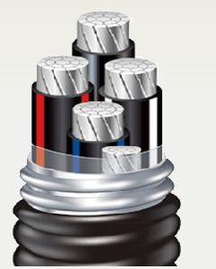 На Ближнем Votage XLPE-аль-основной кабель питания