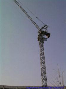 Маленькая очаровательная TC5013 Hongda Luffing башни крана