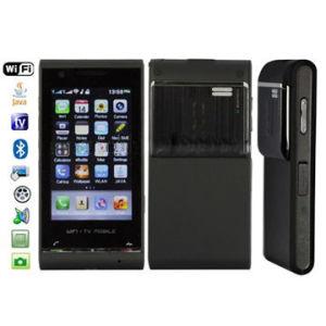 Mms-Telefon H801 mit FM WiFi u. Java Fernsehapparat-Funktions-Noten-Handy