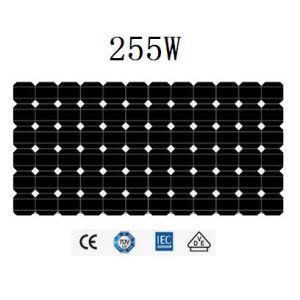 255Wモノクリスタル太陽電池パネル(JHM255M-72)