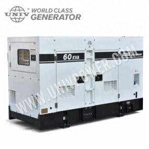 Globale Diesel Tier4 Definitieve Goedgekeurde 100kw Perkins van de Garantie EPA Stille Generator