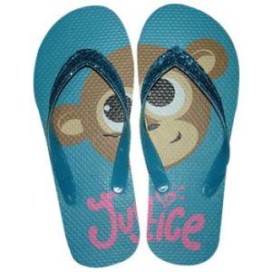 Plage de patins en caoutchouc avec Monkey imprimé (JS5125)