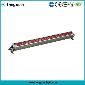 18PCS 10W RGBWのクォードLEDの壁の洗濯機の段階ライト