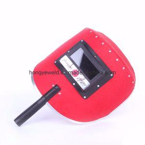 赤いペーパーセリウムの溶接のヘルメット