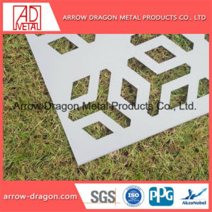 Laser geschnittenes dekoratives Metallbildschirm-Panel für Privatleben-Zaun
