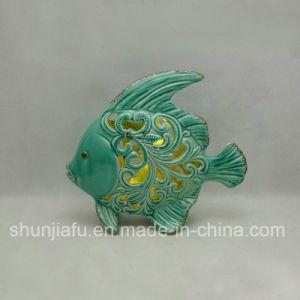 Kaars van LEIDENE de Ceramische Houder van de Overzeese Vissen