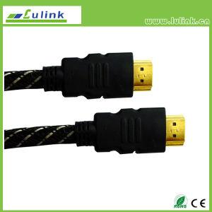 Metallgehäuse-Mann HDMI M bis m-Kabel 19pin
