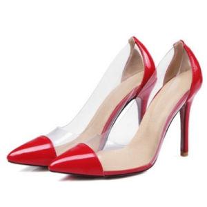 Logo personnalisé de grande taille High Heels Dernière Fashion femmes