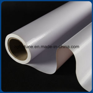 O material de impressão de boa qualidade 440g 500*500d/9*9 Banner Flex com iluminação