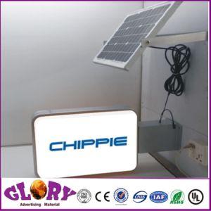 Suporte de parede de tamanho grande caixa de luz LED Giratório Assinar
