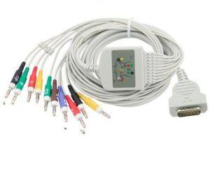 Marquette совместимых Direct-Connect Просто получить актуальную ЭКГ в 12 отведениях в 10 отведениях кабель