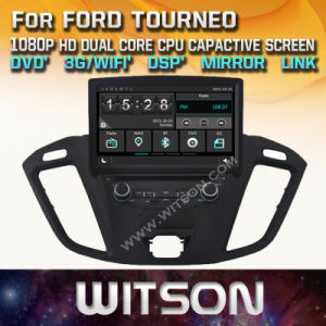 Tela de Toque do Windows Witson aluguer de DVD para a Ford Tourneo