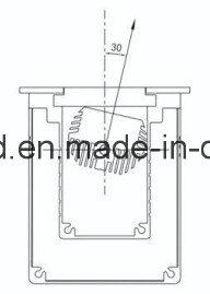Helles niedriges Tiefbautiefbaulicht der Cer RoHS Edelstahl-Lampen-Karosserien-IP67 des Preis-LED